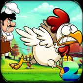 Chicken Run 2 взломанная (Mod: много денег)