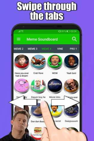 Взлом Meme and Vine Soundboard (Мод gold)