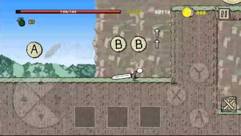 Great Sword - Stickman Action RPG взломанный (Мод много денег)