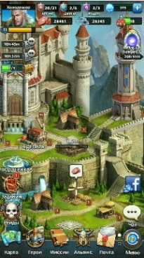 MythWars & Puzzles: RPG взлом (Мод много кристаллов)