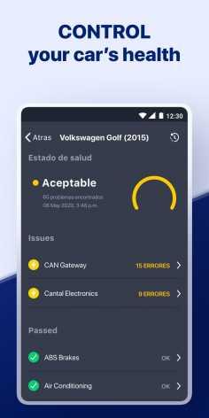 Carly — OBD2 car scanner (Мод pro/полная версия)