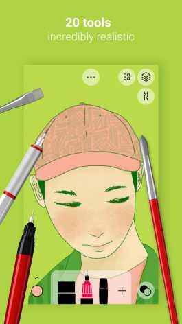 Tayasui Sketches взлом (Мод pro)