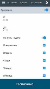 Взлом Черный список PRO (Mod: полная версия)