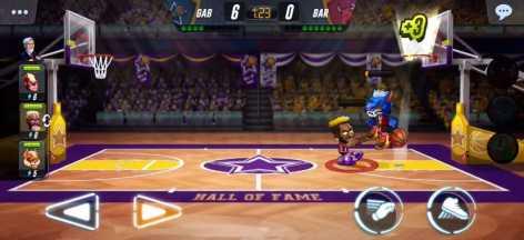 Basketball Arena взломанный (Мод много денег)